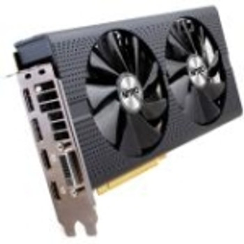 11256-01-20G Sapphire NITRO+ Radeon RX 470 Graphic Card 1.14 GHz Core 1.26 GHz Boost Clock 4GB GDDR5 PCI Express 3.0 Dual Slot Space Required 256 bit