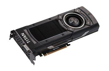 12G-P4-2990-A1 EVGA GeForce GTX TITAN X 12GB GDDR5 384-bit DVI-I/ HDMI/ 3x DisplayPort HDCP Ready SLI Support PCI Express 3.0 Video Graphics Card