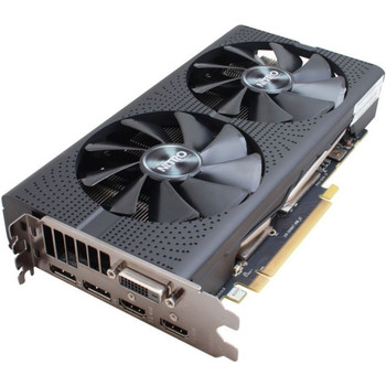 11256-10-20G Sapphire Radeon RX 470 Graphic Card 1.14 GHz Core 1.24 GHz Boost Clock 4GB HBM PCI Express 3.0 Dual Slot Space Required 256 bit Bus Width