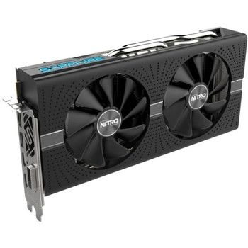 11266-09-20G Sapphire NITRO+ Radeon RX 570 Graphic Card 1.34 GHz Boost Clock 8GB GDDR5 Dual Slot Space Required 256 bit Bus Width Fan Cooler OpenGL 4.