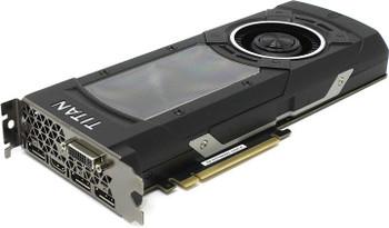 GV-NTITANXD5-12GD-B Gigabyte GeForce GTX TITAN X 12GB GDDR5 384-Bit HDMI / 3x DisplayPort / Dual-Link DVI-I PCI-Express 3.0 Video Graphics Card
