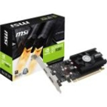 G10302PC MSI Nvidia GeForce GT 1030 2G LP OC 2GB GDDR5 64-Bit HDMI / DisplayPort PCI-Express 3.0 x16 Video Graphics Card