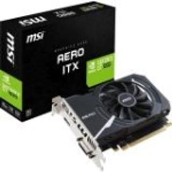 G1030AI2C MSI GeForce GT 1030 2GB GDDR5 64-Bit HDMI / Single-Link DVI-D PCI-Express 3.0 x16 Video Graphics Card