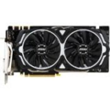 G1070AR8C MSI GeForce GTX 1070 ARMOR 8G OC 8GB GDDR5 256-Bit HDMI / 3x DisplayPort / Dual-Link DVI-D PCI-Express 3.0 x16 Video Graphics Card