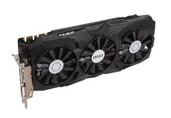 G1070TD8 MSI Nvidia Geforce GTX 1070 TI Duke 8GB GDDR5 Dvi/HDmi/3displayport PC