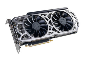 11G-P4-6591-KR EVGA GeForce GTX 1080 Ti Graphic Card 1.48 GHz Core 1.58 GHz Boost Clock 11GB GDDR5X Dual Slot Space Required