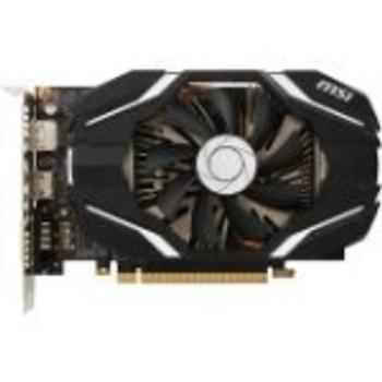 G1080GX8 MSI GeForce GTX 1080 Graphic Card 1.71 GHz Core 1.85 GHz Boost Clock 8GB GDDR5X 256 bit Bus Width Fan Cooler DirectX 12 OpenGL 4.5 3 x Displ