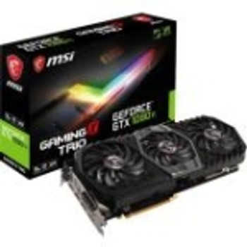 G1080TGXT MSI GTX 1080 Ti GAMING X TRIO GeForce GTX 1080 Ti Graphic Card 1.57 GHz Core 1.68 GHz Boost Clock 11GB GDDR5X 352 bit Bus Width Fan Cooler D
