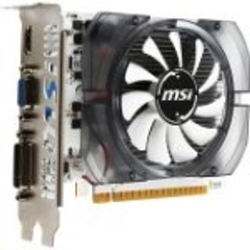 G730233 MSI N730-2GD3V3 GeForce GT 730 Graphic Card 700 MHz Core 2GB DDR3 SDRAM PCI Express 2.0 x16 128 bit Bus Width Fan Cooler DirectX 12 OpenGL 4.