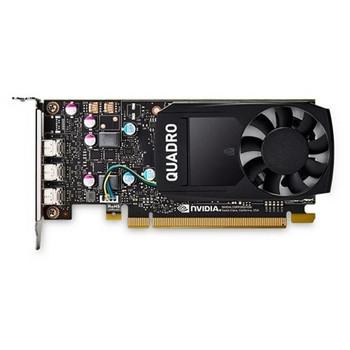 490-BDTB Dell 2GB Nvidia Quadro P400 Full Height 3 Mini DisplayPort Video Graphic Card