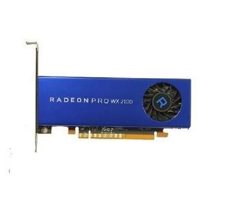 490-BDZR Dell 2GB AMD Radeon Pro WX 2100 2 x Mini DisplayPort Video Graphic Card