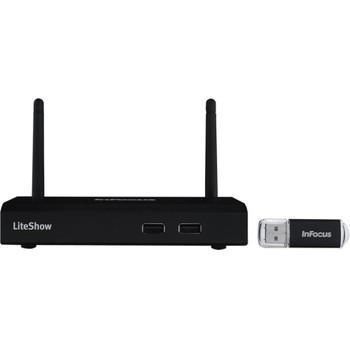 INLITESHOW4 InFocus LiteShow 4 Wireless Presentation Adapter (Refurbished)