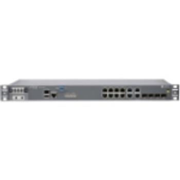 ACX1100-AC Juniper Router 12 Ports Management Port 4 Slots Gigabit Ethernet 1U Rack-mountable (Refurbished)