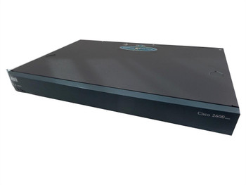 CISCO2621 Cisco 2621 Dual Modular Router With 2 10/100 Ports 1 Network Module Slot 2 WIC Slots DRAM & Flash (Refurbished)
