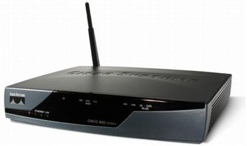 CISCO851-K9 Cisco 851 Integrated Services Router With 4 Port Switch And IOS Advanced IP services (Refurbished)