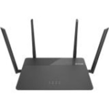 DIR-878 D-Link IEEE 802.11ac Ethernet Wireless Router 2.40 GHz ISM Band 5 GHz UNII Band 1900 Mbit/s Wireless Speed 4 x Network Port 1 x Broadband Port