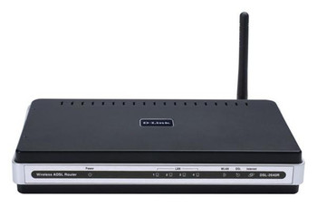 DSL-2640R D-Link Wireless G ADSL2+ Modem Router (Refurbished)