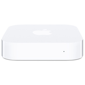 MC414B/A Apple AirPort Express Wireless Router IEEE 802.11n ISM Band UNII Band 54 Mbps Wireless Speed 1 x Network Port 1 x Broadband Port USB Desktop