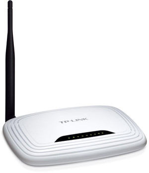 TL-WR741ND TP-LINK Wireless Router 150 Mbps 4 x 10/100Base-TX Network LAN 1 x 10/100Base-TX Network WAN IEEE 802.11n (draft) (Refurbished)