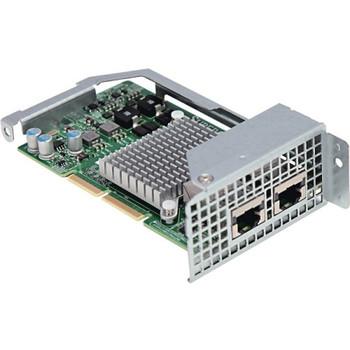AOC-CTG-I2T SuperMicro Dual-Ports RJ-45 10Gbps PCI Express 2.1 Gigabit Ethernet MicroLP Network Adapter
