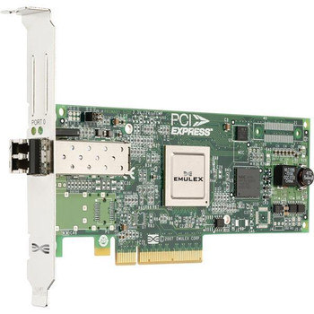 LPE12000-E-A1 Emulex 1-Port 8Gbs Fibre Channel PCI Express 2.0 Single Channel Host Bus Adapter