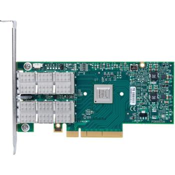 MCX354A-QCAT Mellanox ConnectX-3 Dual-Ports QSFP 40Gbps PCI Express 3.0 x8 QDR InfiniBand VPI Network Adapter