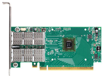 MCX354A-TCBT Mellanox ConnectX-3 Dual-Ports 10Gbps 10Gigabit Ethernet PCI Express 3.0 Network Adapter with VPI