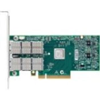MCX453A-FCAT Mellanox ConnectX-4 VPI Single-Port QSFP28 56Gbps PCI Express 3.0 x8 FDR IB Network Adapter