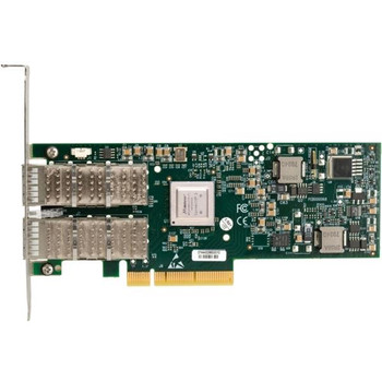 MNPH29D-XSR Mellanox ConnectX-2 EN Dual Port SFP+ PCI Express 2.0 Network Interface Card