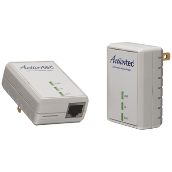 PWR200K01 Actiontec 200 Mbps Powerline Network Adapter