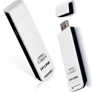 TL-WN821N TP-Link 300Mbps 802.11b/g/n USB 2.0 Wi-Fi Network Adapter