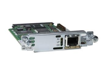 VWIC2-1MFT-T1/E1-1 Cisco 1-Port T1/E1 Multiflex Trunk Voice/WAN Interface Card