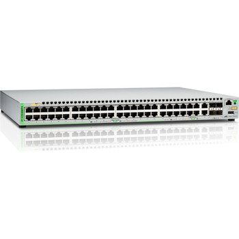 AT-GS948MPX-10 Allied Telesis 48-Ports 10/100/1000Base-T Poe+ Gbe Managed Switch (Refurbished)