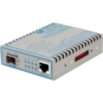 4719-0 FlexPoint 10/100/1000 Gigabit Ethernet Fiber Media Converter RJ45 SFP 1 x 10/100/1000BASE-T; 1 x 100/1000BASE-X; No Power Adapter;