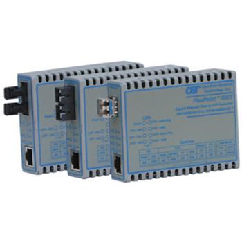4719-1 Omnitron Systems [a88y496] Flexpoint Mc10/100/1000baset 1000base Sfp Us Power [47