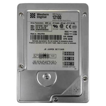 AC12100-00LC Western Digital 2GB 5400RPM ATA 33 3.5 256KB Cache Caviar Hard Drive