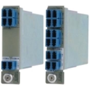 8875-0 iConverter 4-Ch SF CWDM Mux/Demux 4-Channel Single Fiber CWDM MUX/DMUX-R (Ch1 1290/1270 Ch2 1330/1310 Ch3 1370/1350 Ch4 1450/1430)