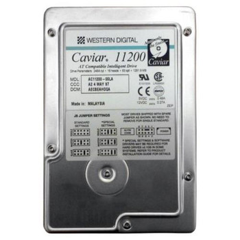 AC11200 Western Digital 1GB 5200RPM ATA 33 3.5 256KB Cache Caviar Hard Drive