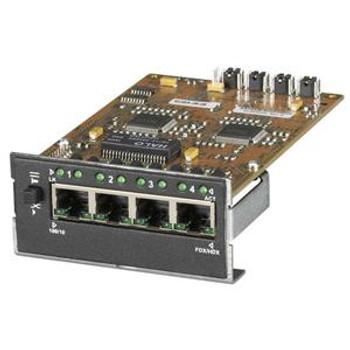 LE1425C Black Box 4-Port Switching Module 3 x 10/100Base-TX LAN 1 x 10/100Base-TX Uplink Switching Module