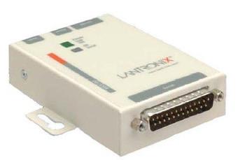 MSS100-21 Lantronix Ethernet Modules 10/100 Device Server DB25 to RJ45