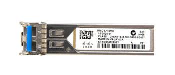 GLC-LH-SMD=-C3 Cisco 1Gbps 1000Base-LX/ LH Single-mode Fiber 10km 1310nm Duplex LC Connector SFP Transceiver Module