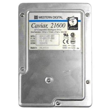 AC21600 Western Digital 1GB 5200RPM ATA 33 3.5 128KB Cache Caviar Hard Drive