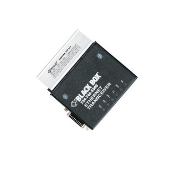 LE003A-R3 Black Box Standard Thick Coax Transceiver Module with AUI Monitor