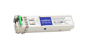 SFP1GBXD80AO ADDONICS 1Gbps 1000Base-BX SFP Transceiver Module