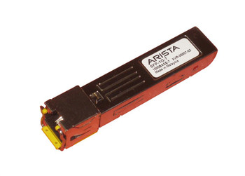 SFP-1G-T Arista Networks 1Gbps 1000Base-T Copper 100m RJ-45 Connector SFP Transceiver Module