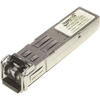 TN-CWDM-SFP-1330-40 Transition Networks 1.25Gbps Single Mode 1330nm 40km LC Connector SFP Mini-GBIC Transceiver Module