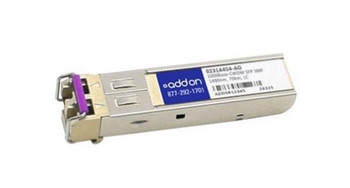 0231A454AO ADDONICS 1Gbps 1000Base-CWDM LH Single-mode Fiber 70km 1490nm Duplex LC Connector SFP Transceiver Module for H3C Compatible