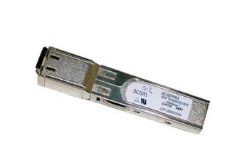 3CSFP93-FI 3Com 1Gbps 1000Base-T Copper 100m 1310nm RJ-45 Connector SFP Transceiver Module