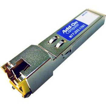 453154-B21-AO AddOn 1Gbps 1000Base-T Copper 100m RJ-45 Connector SFP Transceiver Module for HP Compatible