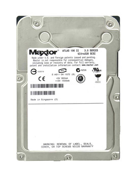 8E036J0 Maxtor 36GB 15000RPM Ultra 320 SCSI 3.5 8MB Cache Atlas Hard Drive